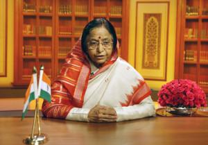 SMT PRATIBHA DEVI SINGH PATIL - PRESIDENT OF INDIA