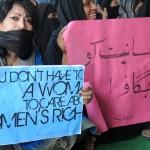 PROTEST AGAINST INCREASING RAPE IN DELHIIN DELHI