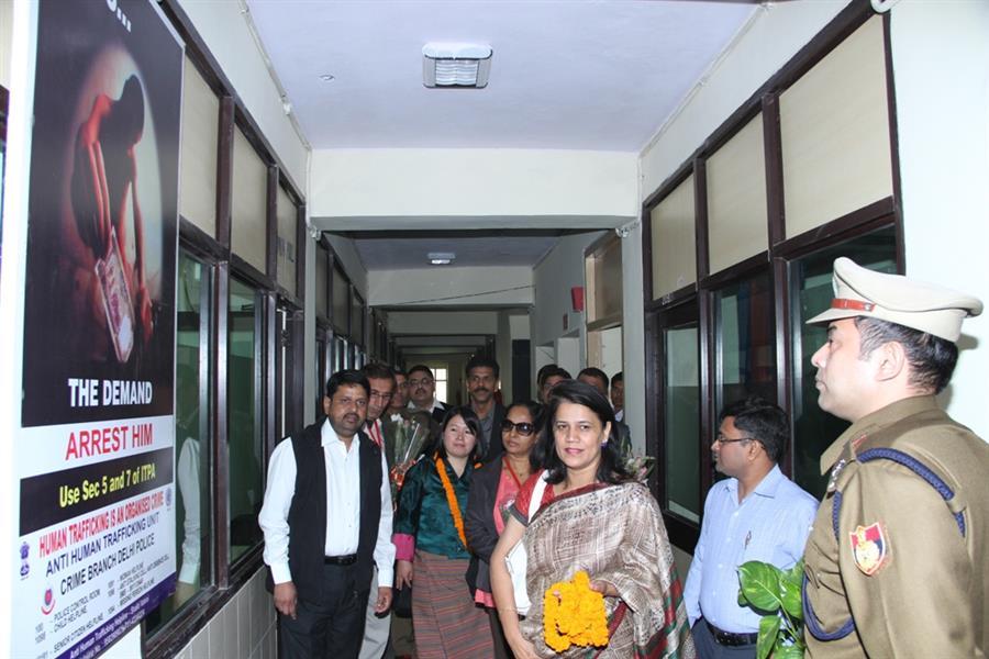 AHTU Mandir Marg, New Delhi